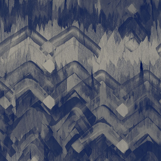 Brushed Herringbone Wallpaper Blue  17 Patterns