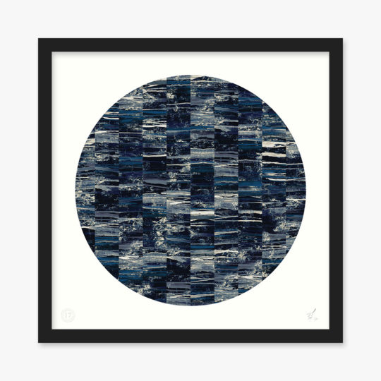 acro-ii-navy-circle-art-print