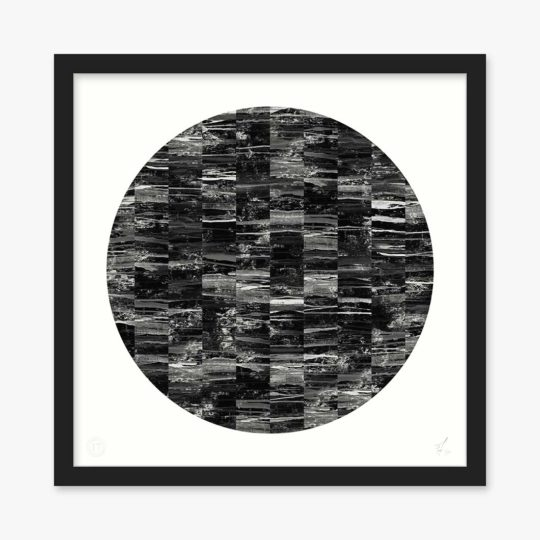acro-ii-black-circle-art-print